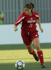 Lauren Erwin BU soccer